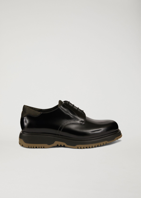 Armani Chaussures Giorgio Lacets - Marron SdjLl5T