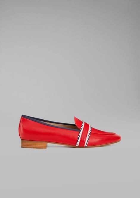 GIORGIO ARMANI Loafers Woman f