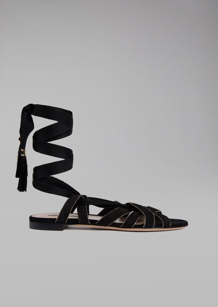 b2335a27f Sandals with Suede Straps