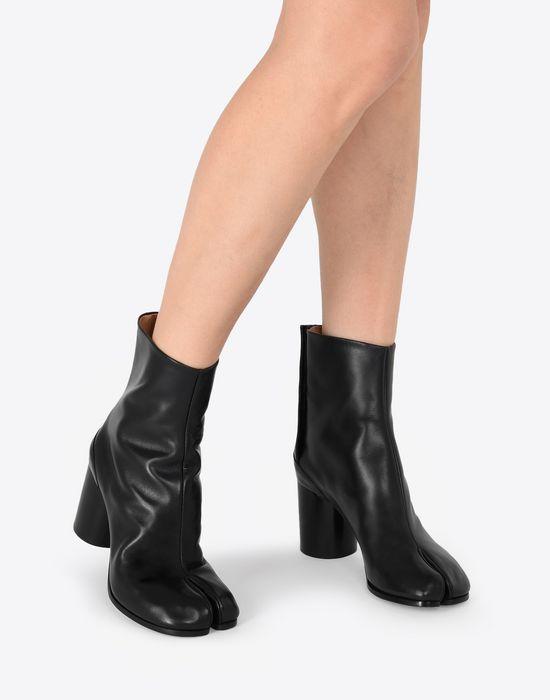 MAISON MARGIELA Calfskin Tabi boot Tabi boots [*** pickupInStoreShipping_info ***] b