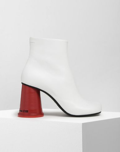 MM6 MAISON MARGIELA Ankle boots Woman Cup-heel ankle boots  f