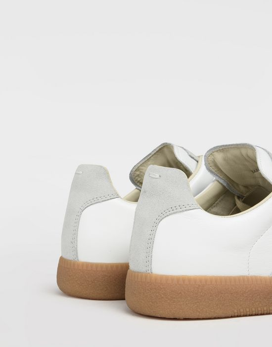 "MAISON MARGIELA Calfskin and suede ""Replica"" sneaker  Sneakers [*** pickupInStoreShipping_info ***] a"