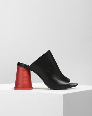 MM6 MAISON MARGIELA Sandals Woman Cup-heel mules f