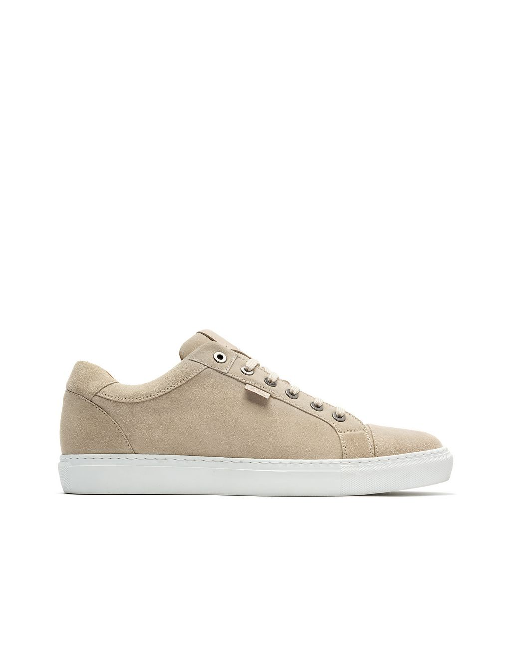 BRIONI Ivory Calfskin Suede Sneaker Sneakers [*** pickupInStoreShippingNotGuaranteed_info ***] f