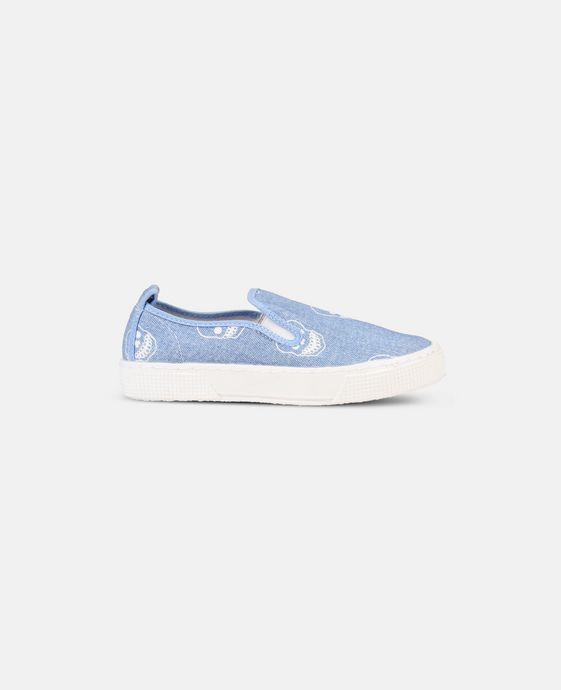 Leo Slip On Denim Shoes