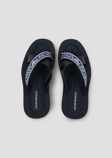 PVC SANDALS WITH LOGO