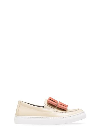 Marni shiny leather sneaker Woman