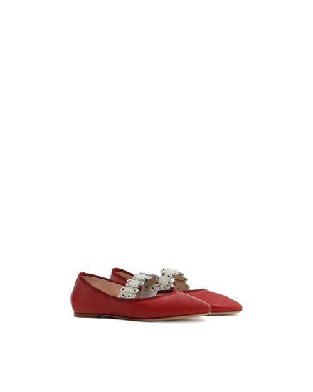 REDValentino 芭蕾鞋 女士 PQ2S0973HHU 0SQ f