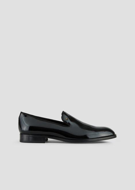 Loafer in patent leather