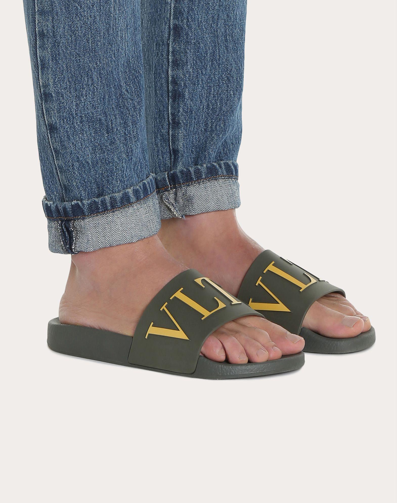 VALENTINO GARAVANI UOMO PY0S0873SYE GRE 橡胶拖鞋式凉鞋 U b