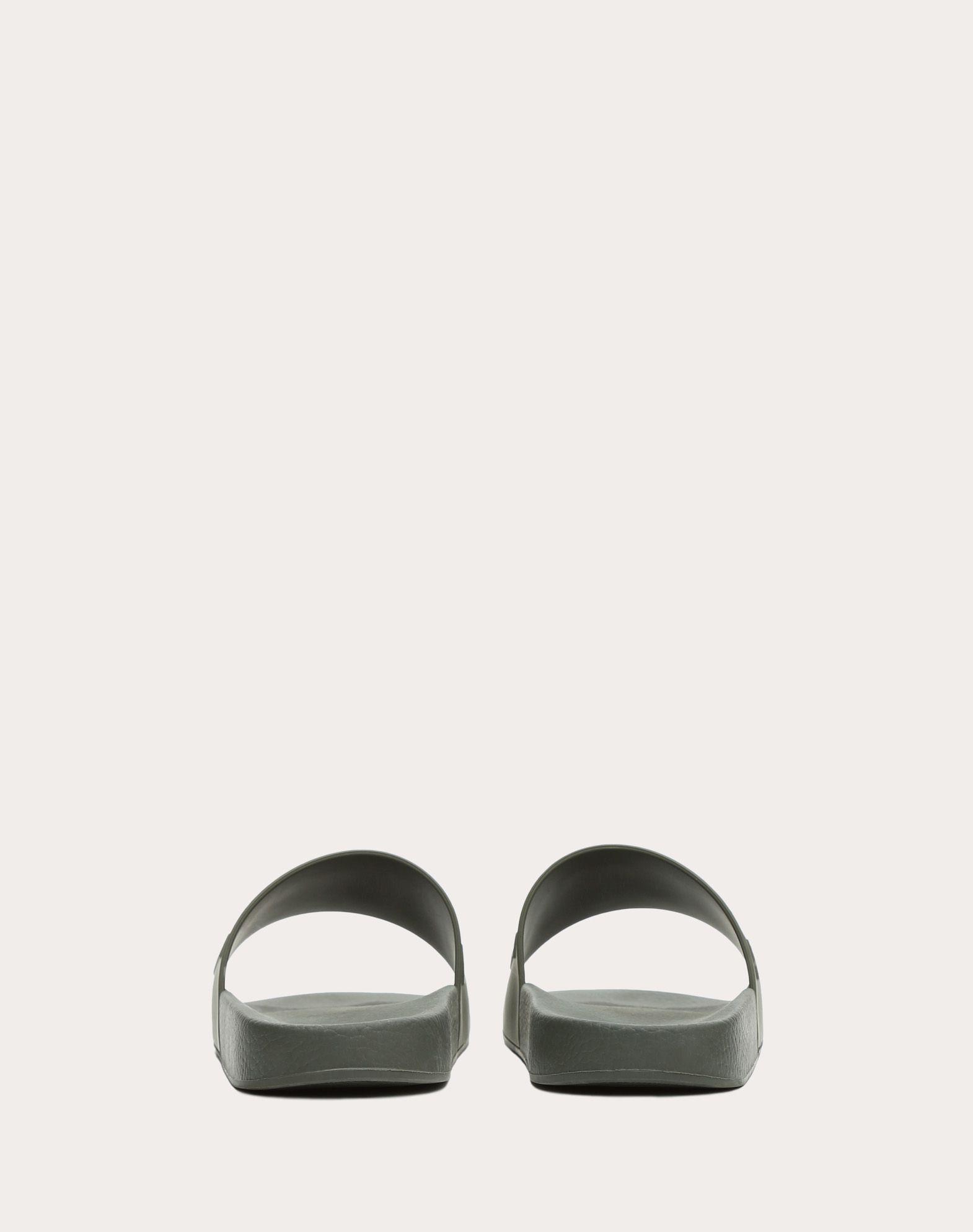 VALENTINO GARAVANI UOMO PY0S0873SYE GRE 橡胶拖鞋式凉鞋 U d