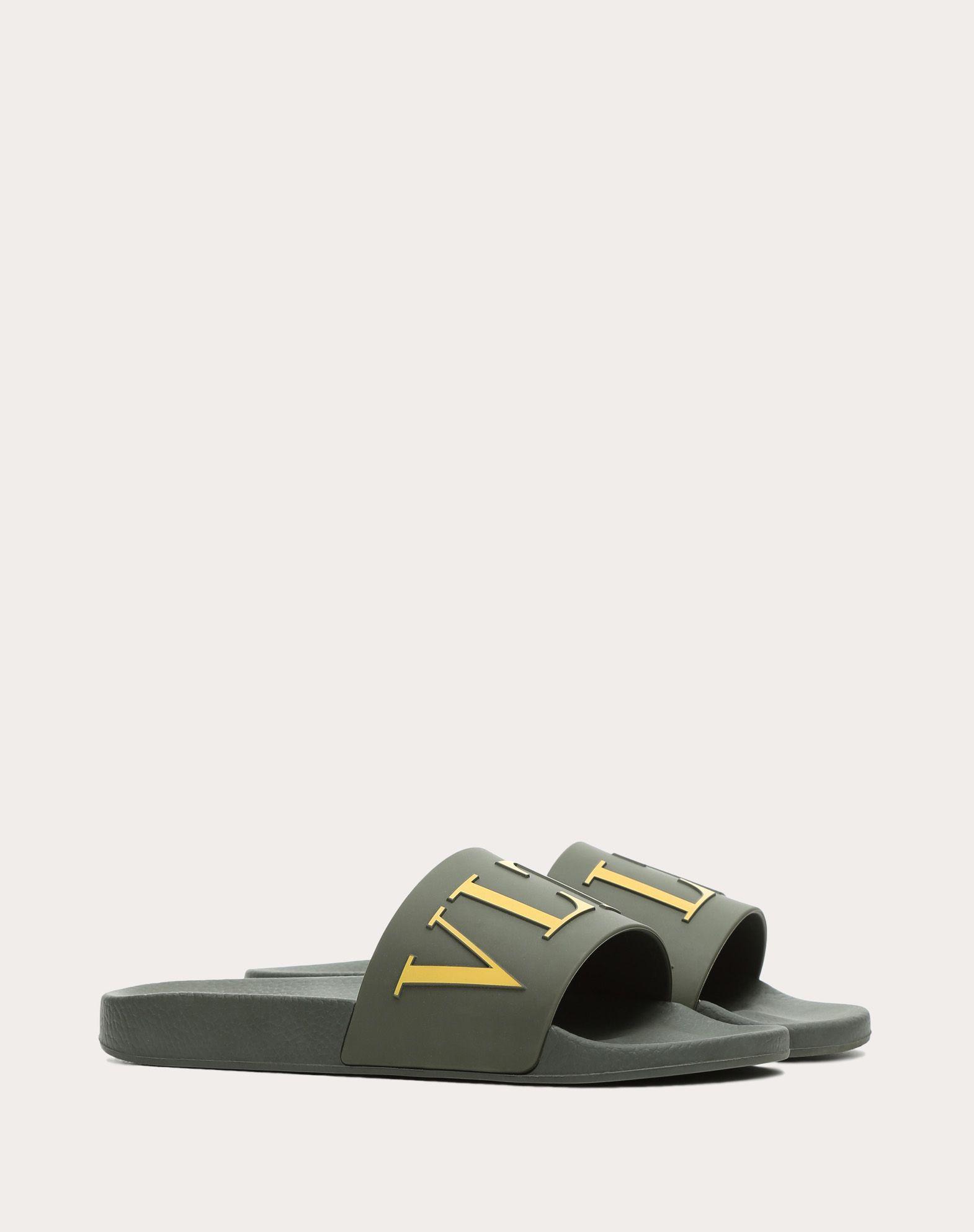 VALENTINO GARAVANI UOMO PY0S0873SYE GRE 橡胶拖鞋式凉鞋 U r