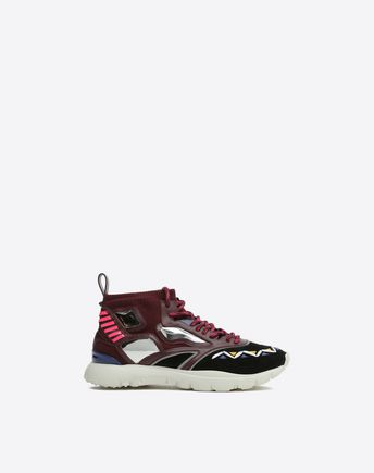 VALENTINO GARAVANI UOMO HIGH-TOP SNEAKER U Made One Sneaker f