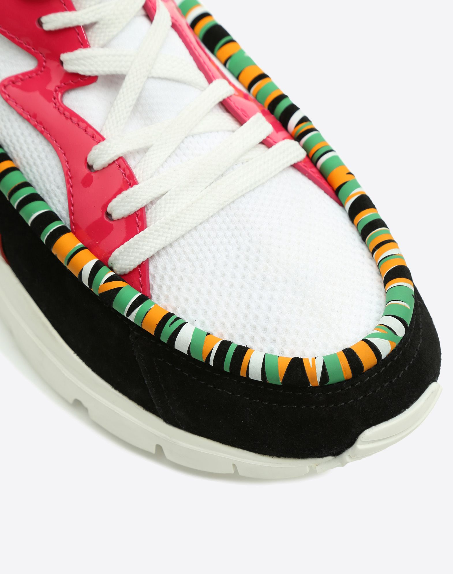 VALENTINO GARAVANI UOMO Heroes Tribe Sneakers HIGH-TOP SNEAKER U b