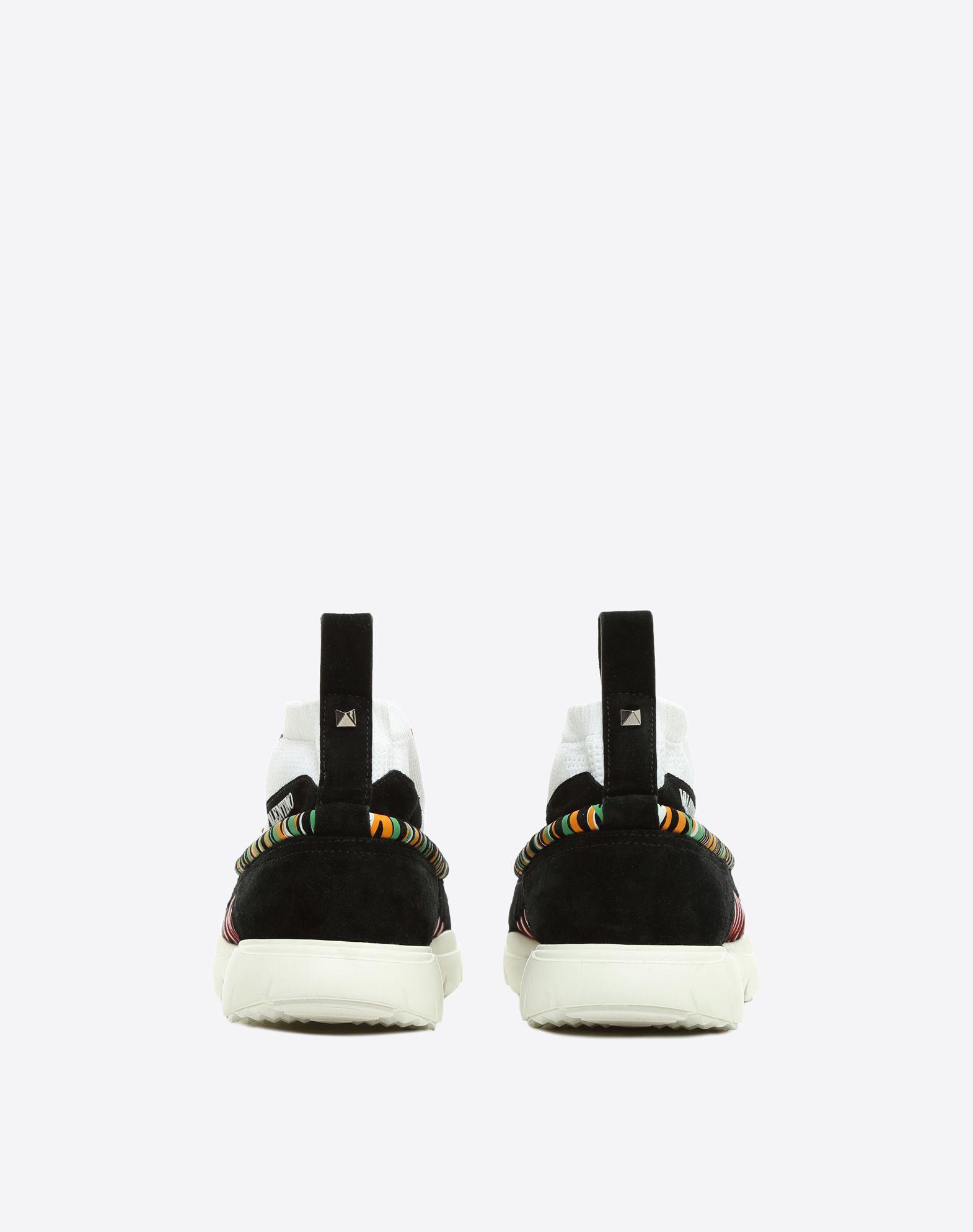 VALENTINO GARAVANI UOMO Heroes Tribe Sneakers HIGH-TOP SNEAKER U d