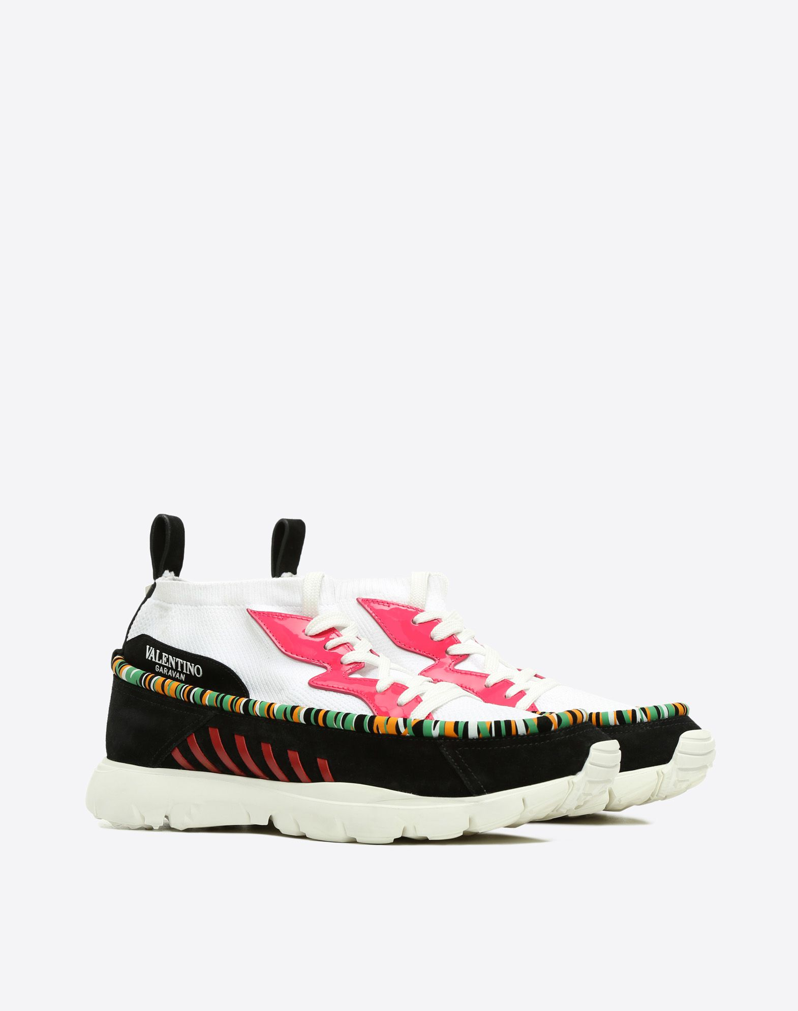 Valentino Garavani Heroes Tribe sneakers - Black Valentino Buy Cheap Best Wholesale Free Shipping Best Store To Get Best Cheap Online Outlet Authentic Cheap Sale Supply rf1deoUkD