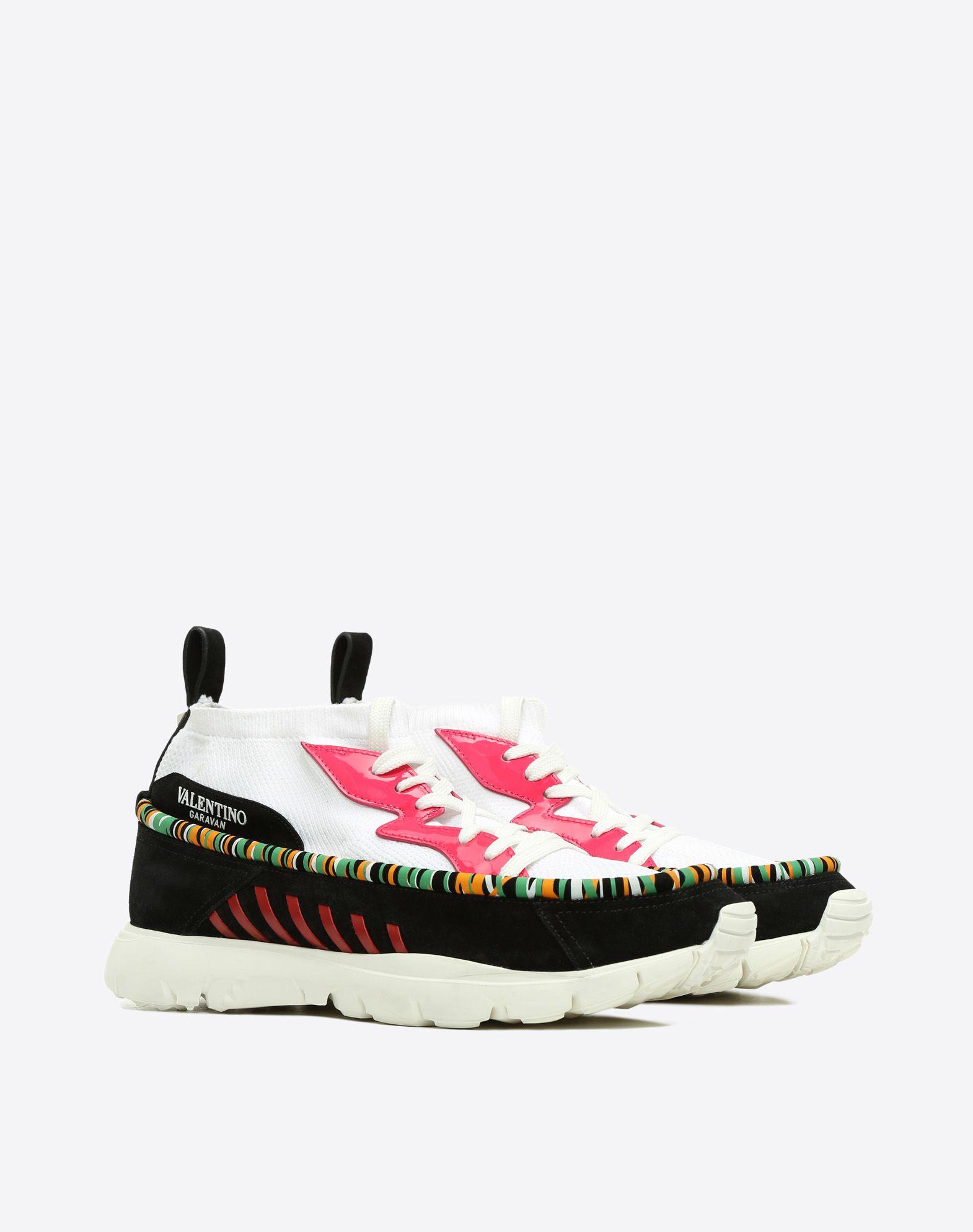 VALENTINO GARAVANI UOMO Heroes Tribe Sneakers HIGH-TOP SNEAKER U r