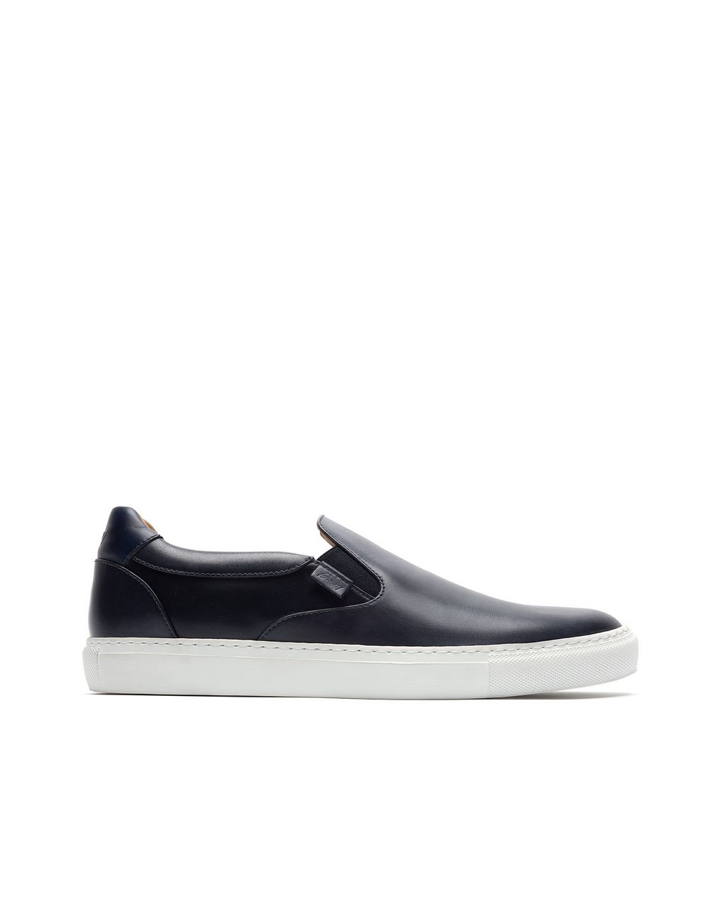 BRIONI Navy Blue Slip on Sneaker Sneakers Man f