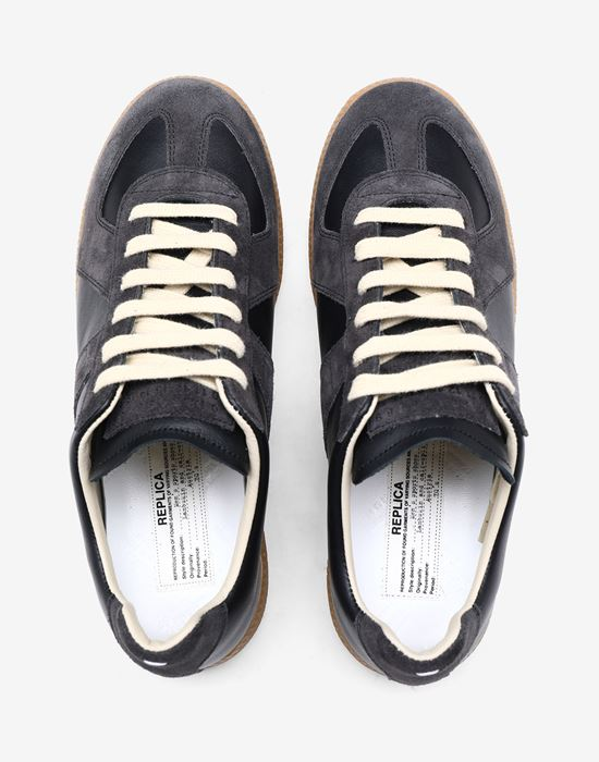 "MAISON MARGIELA Calfskin and suede ""Replica"" sneaker Sneakers [*** pickupInStoreShipping_info ***] a"