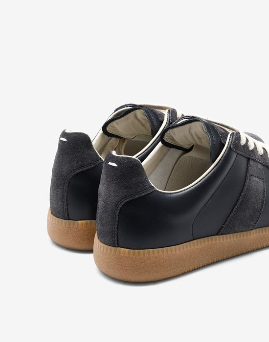 "MAISON MARGIELA Calfskin and suede ""Replica"" sneaker Sneakers [*** pickupInStoreShipping_info ***] e"
