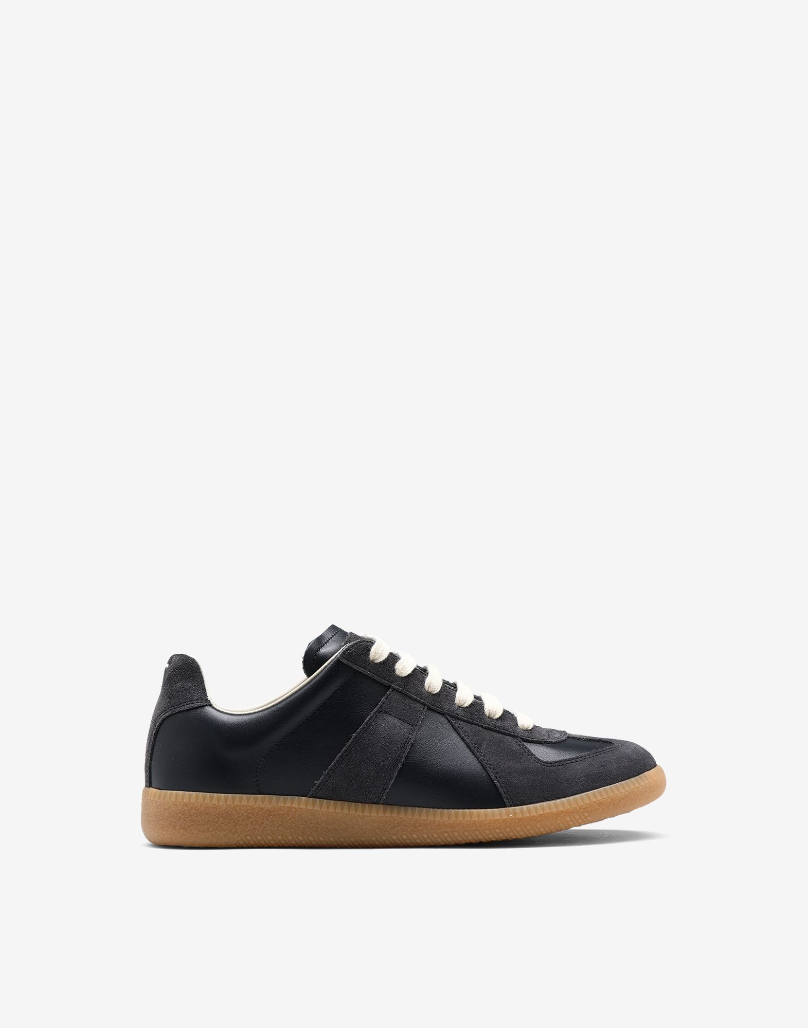 "MAISON MARGIELA Calfskin and suede ""Replica"" sneaker Sneakers Woman f"