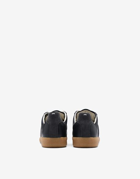"MAISON MARGIELA Calfskin and suede ""Replica"" sneaker Sneakers Woman d"