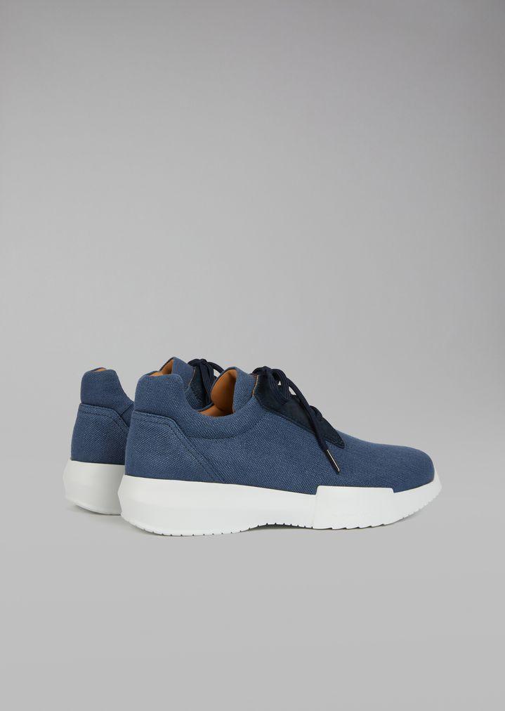 GIORGIO ARMANI Canvas sneakers Sneakers Man d