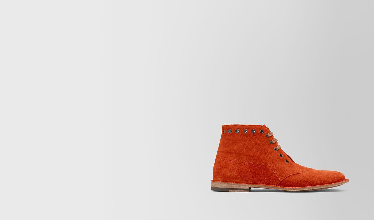 dark terracotta suede maldon boot landing