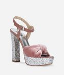 SOIREE Open Velvet Sandal