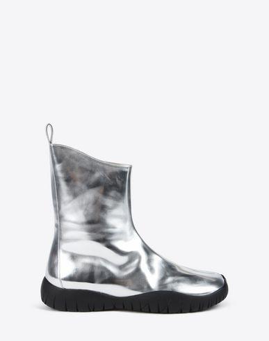 MAISON MARGIELA Tabi boots D Metallic Tabi scuba boots f