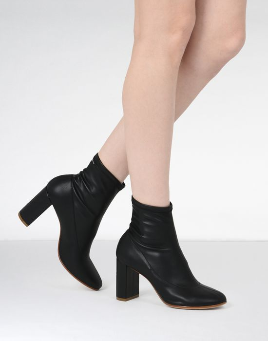 MM6 MAISON MARGIELA Pump-sock ankle boots Ankle boots [*** pickupInStoreShipping_info ***] b