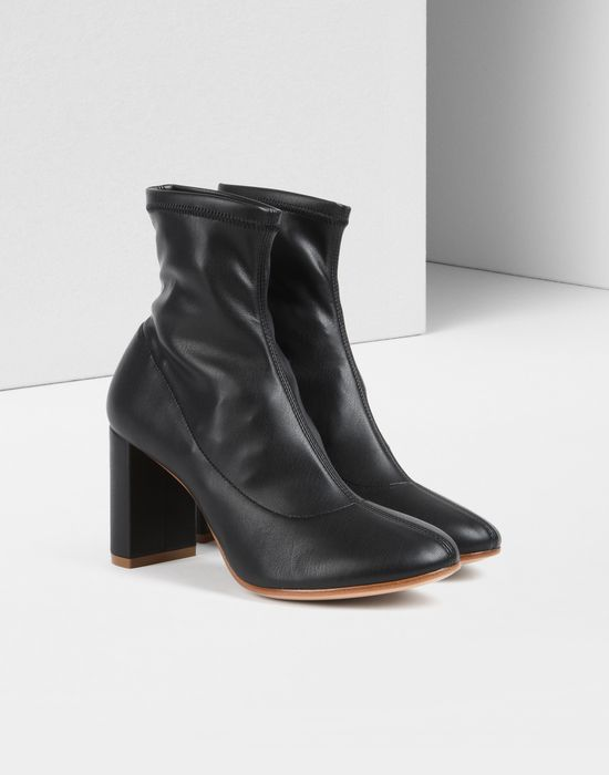 MM6 MAISON MARGIELA Stretch-leather Sock Boots Sale Perfect In China Sale Online Free Shipping Footlocker Finishline Sale Really Sale Cheapest XYUCE