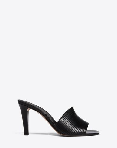 MAISON MARGIELA Sandals Woman Leather mule-pumps f