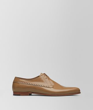 CAMEL CALF MARCELLO SHOE