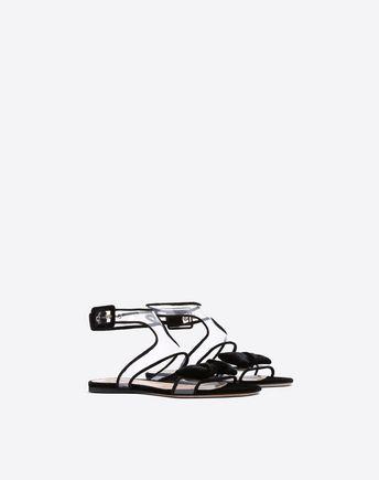 VALENTINO GARAVANI FLAT SANDALS D See-through flat sandal r