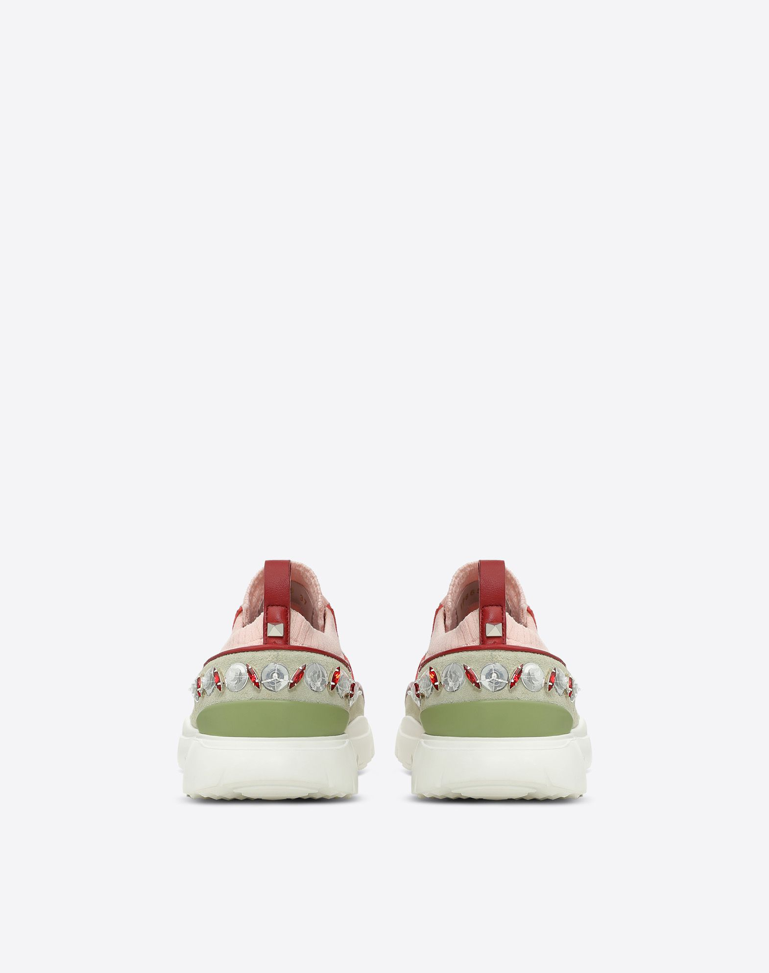 VALENTINO Embroidered low-top Sneaker LOW-TOP SNEAKERS D d
