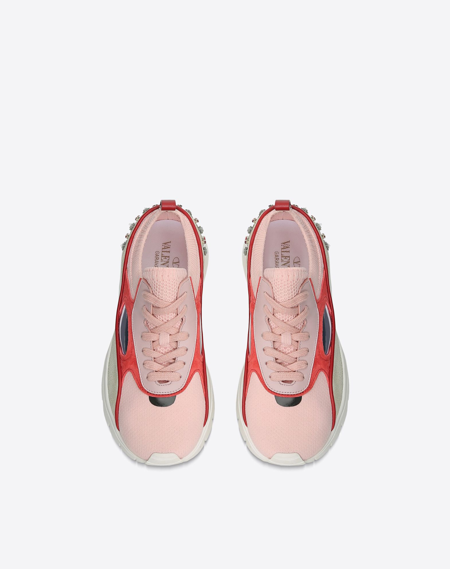 VALENTINO Embroidered low-top Sneaker LOW-TOP SNEAKERS D e