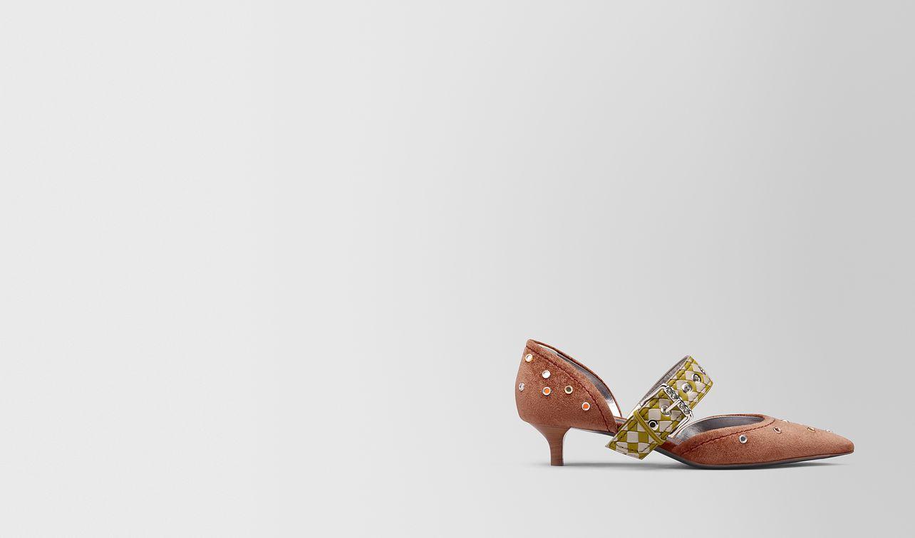 dahlia chenille d'orsay kitten heel  landing