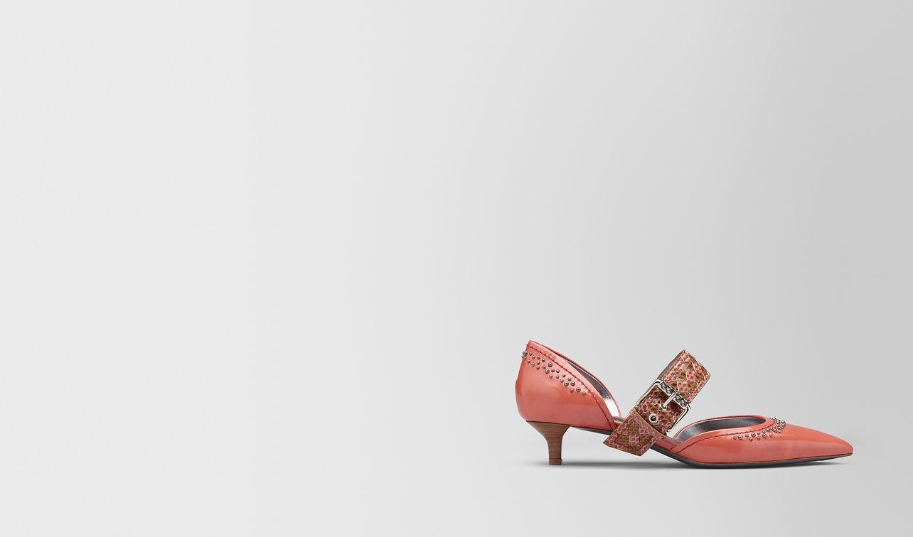 hibiscus calf d'orsay kitten heel  landing