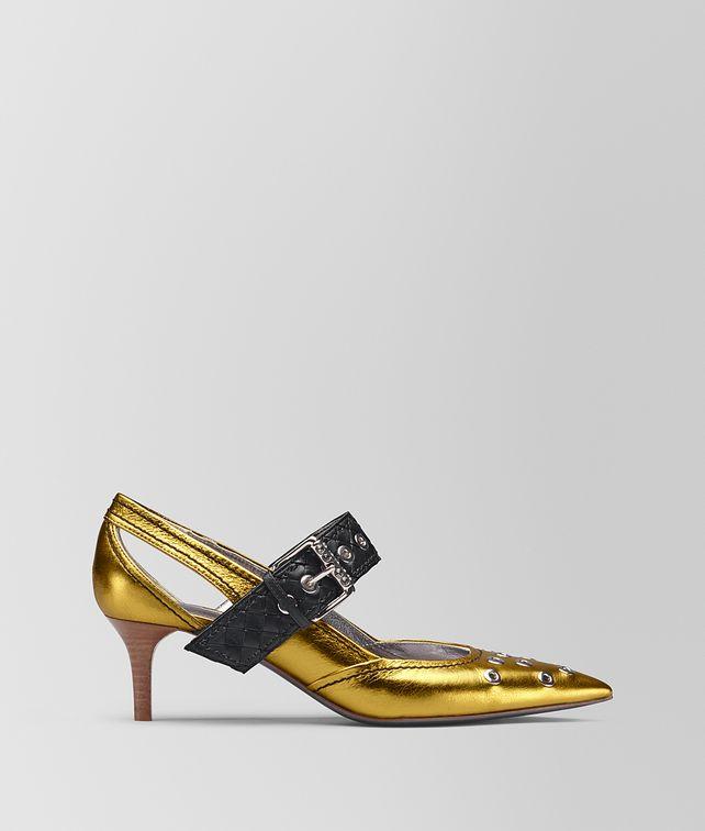 BOTTEGA VENETA ANTIQUE GOLD CALF MARY JANE Pump Woman fp