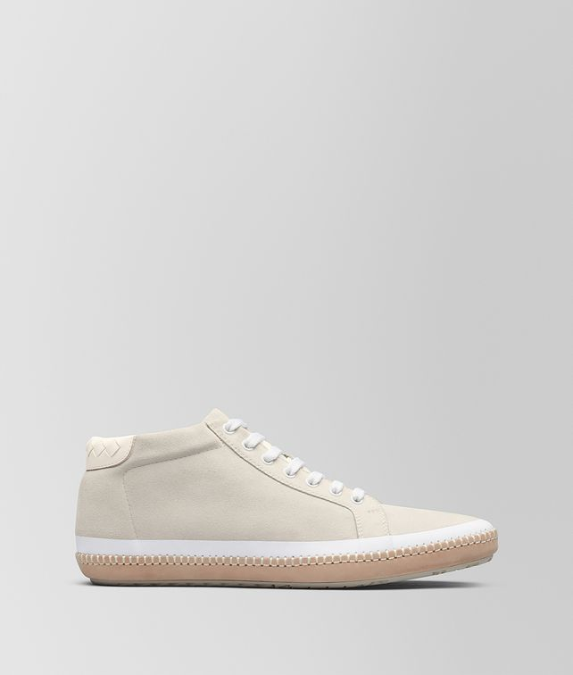BOTTEGA VENETA MIST SUEDE BV FELLOWS SNEAKER Lace Up Man fp