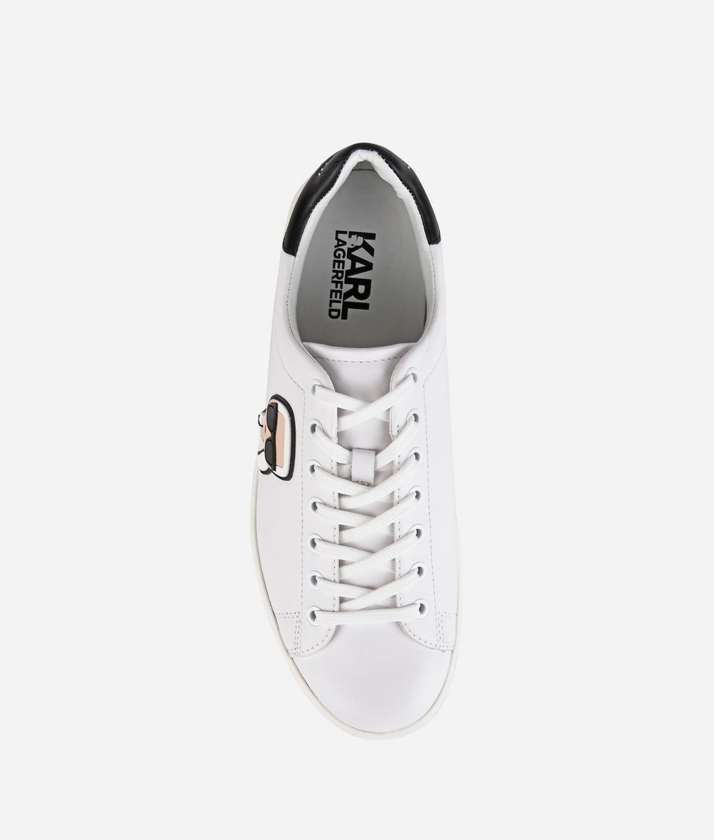 KARL LAGERFELD Kourt Karl Ikonik Lo Lace Sneakers E d