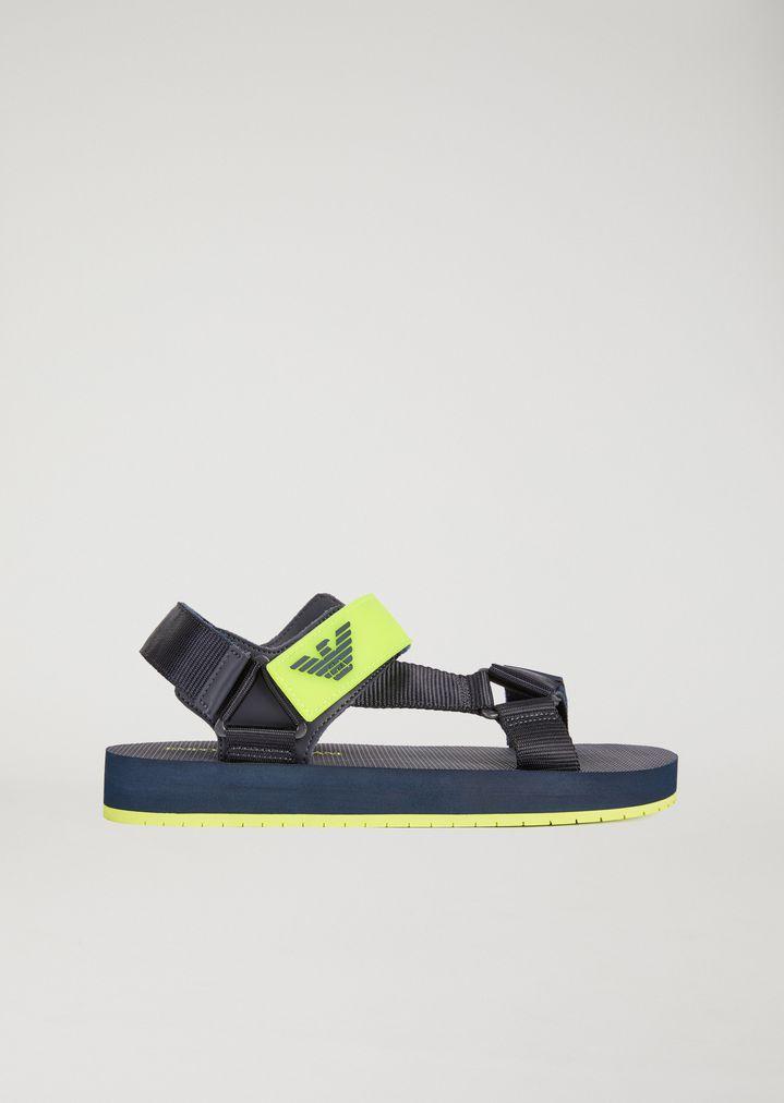 3131c3c237397 Sandals with velcro fastening