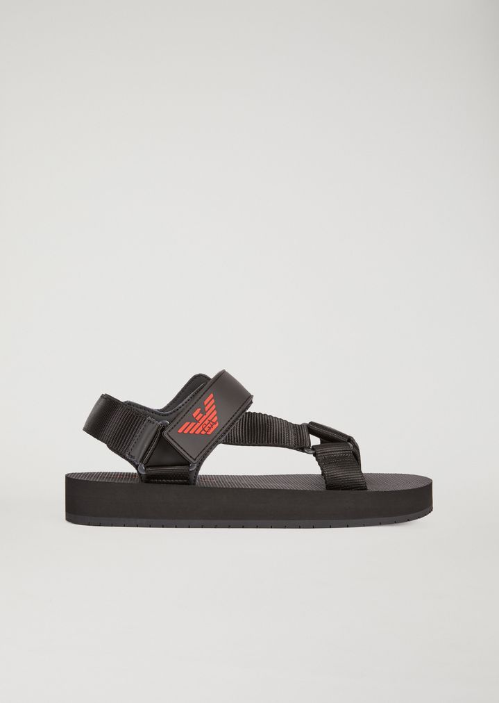 e2aa751cee65 Sandals with velcro fastening