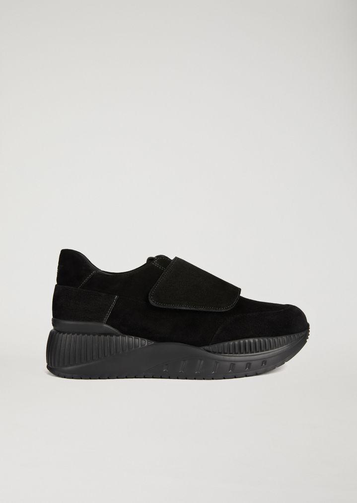 In SuedeUomo Emporio Suola Armani Alta Sneakers Con u5TlJK1Fc3