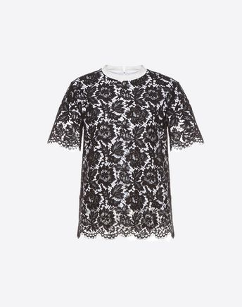 VALENTINO T-shirt D Heavy lace T-shirt f