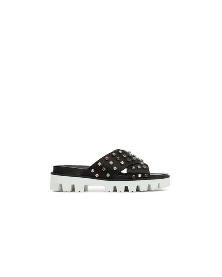 REDValentino Sandal Woman PQ2S0A21BCY 0NO f