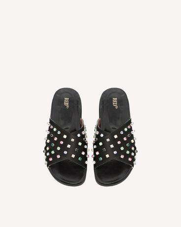 REDValentino PQ2S0A21BCY 0NO Sandal Woman e