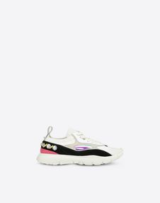 VALENTINO GARAVANI LOW-TOP SNEAKERS D Embroidered low-top Sneaker f