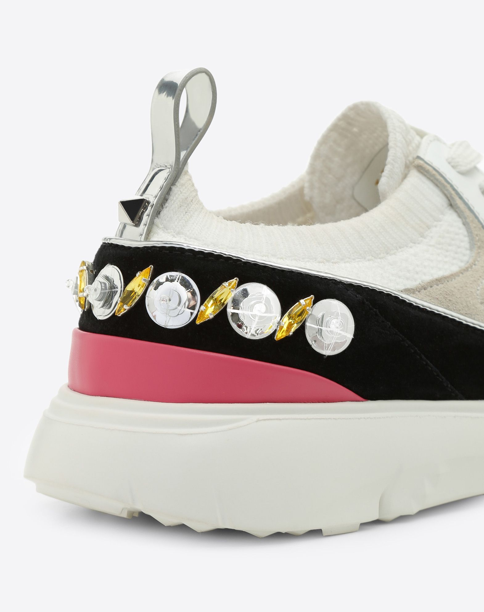 VALENTINO GARAVANI Embroidered low-top Sneaker LOW-TOP SNEAKERS D b